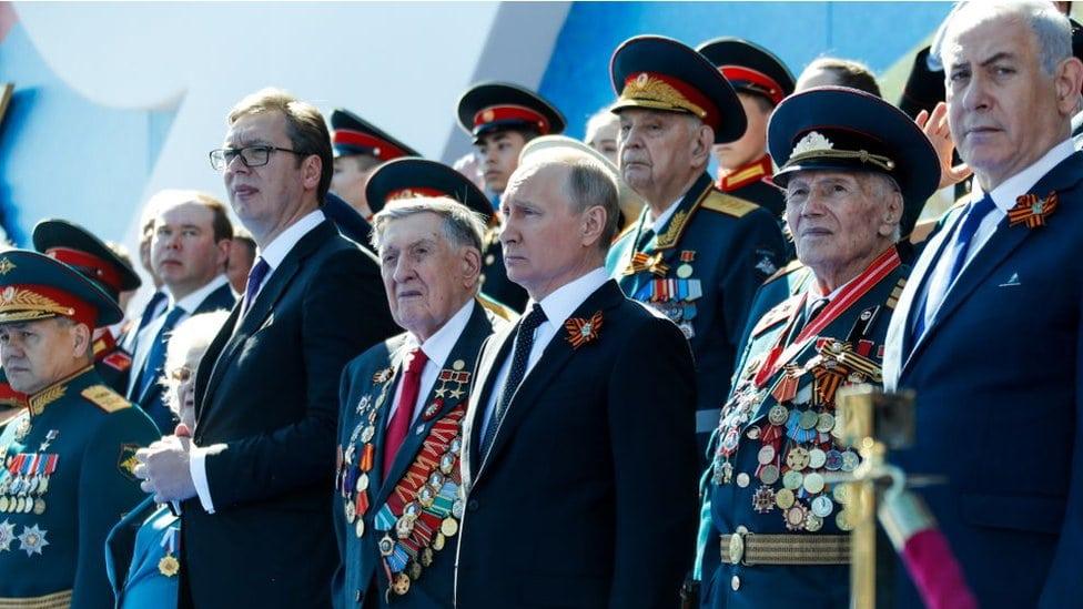 Predsednik Srbije na paradi u Moskvi povodom Dana pobede