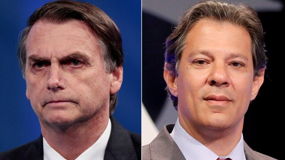 Žair Bolsonaro i Fernando Hadado