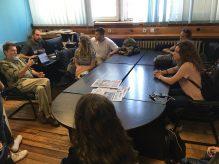 Studenti novinarstva u poseti redakciji Danasa 4