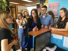 Studenti novinarstva u poseti redakciji Danasa 3