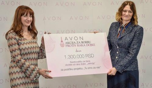 """Donacija kompanije Avon užičkom Savetovalištu """"Jefimija"""" 2"""