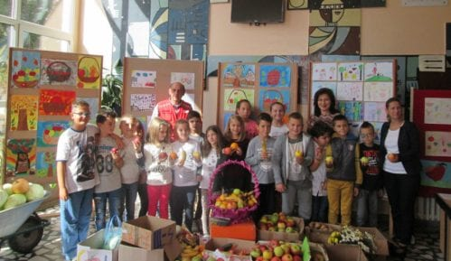 """Humanitarna sabirna akcija """"Zdrava hrana"""" u pirotskoj OŠ ''8. septembar'' 5"""