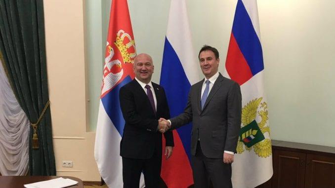 Popović i Patrušev: Rusko tržište otvoreno za srpsku hranu 3