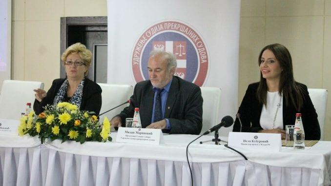 Kuburović: Unaprediti položaj sudija prekršajnih sudova 1