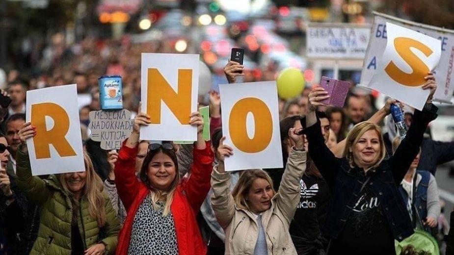 """Mame su zakon"": Ne odustajemo od zahteva dok se u celosti ne reše 1"
