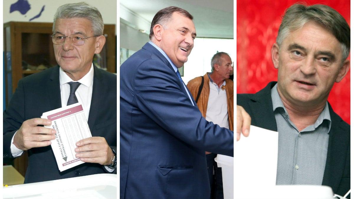 CIK BiH: Najviše glasova Džaferoviću, Komšiću i Dodiku 1