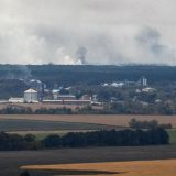 Požar u skladištu municije u Ukrajini 7
