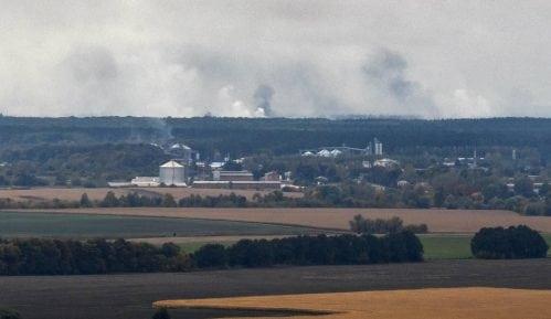 Požar u skladištu municije u Ukrajini 11