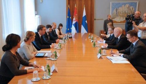 Vučić sa finskim državnim sekretarom o evropskom putu Srbije 6