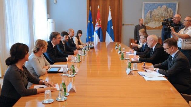 Vučić sa finskim državnim sekretarom o evropskom putu Srbije 1