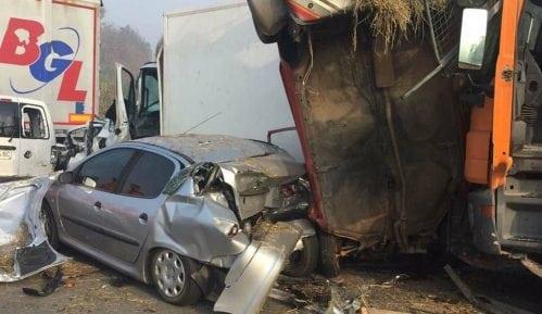 Lančani sudar na auto-putu kod Jagodine, sedam poginulih 12