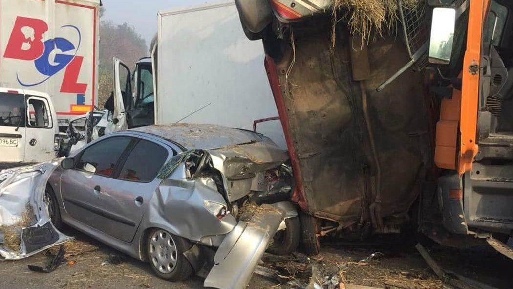 Lančani sudar na auto-putu kod Jagodine, sedam poginulih 1