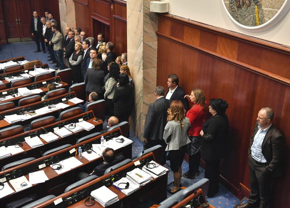 Poslanici podržali promenu naziva Makedonije 2