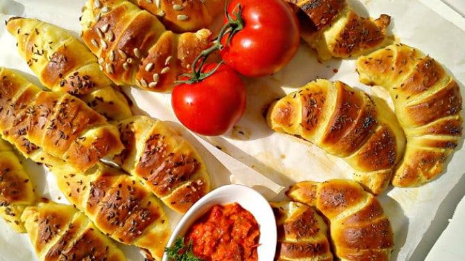 Recept nedelje: Kiflice sa sirom 1