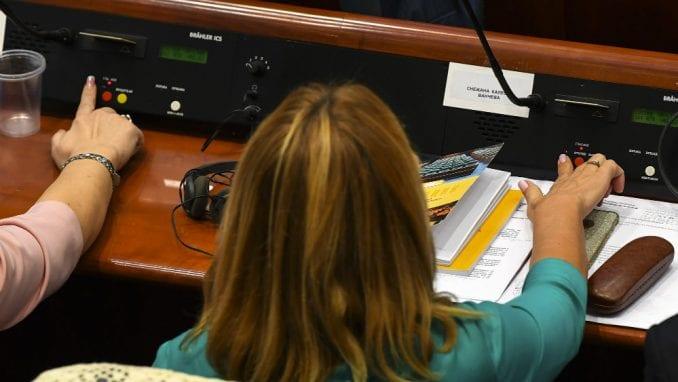 Poslanici podržali promenu naziva Makedonije 1