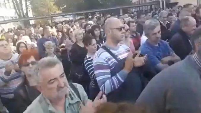 """Protest radnika """"MB - Namenska"""" 1"""