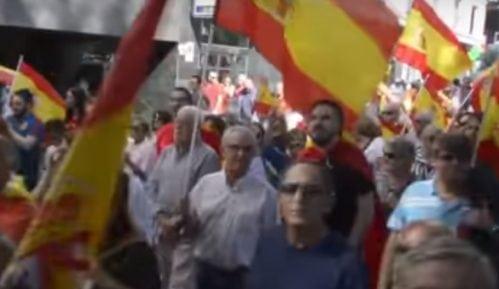 Madrid: Hiljade Španaca na protestu desničara 5