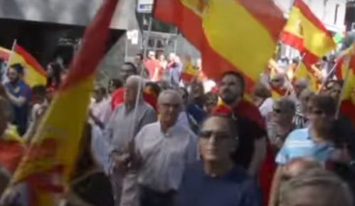 Madrid: Hiljade Španaca na protestu desničara 15