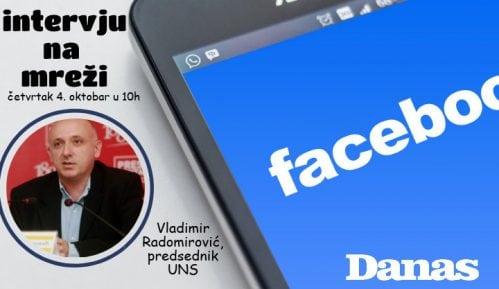 Radomirović 4. oktobra odgovara na pitanja na Fejsbuku 9