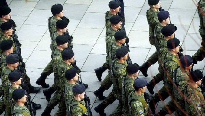 I Srbi konkurisali za prijem u vojsku Kosova 2