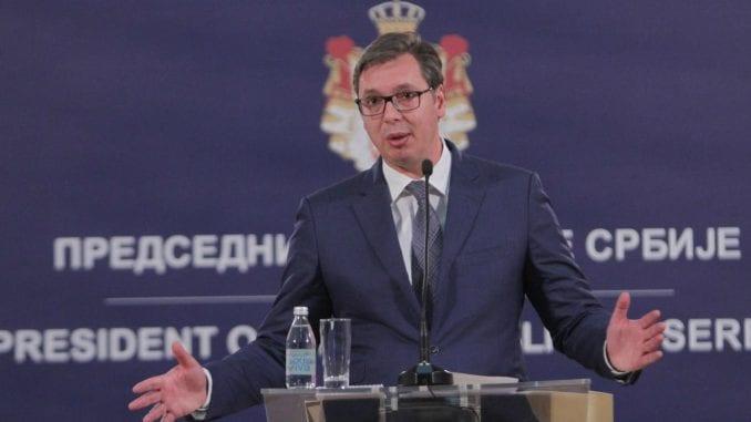 Vučić: Protesti neće biti zabranjeni zbog dolaska Putina 1