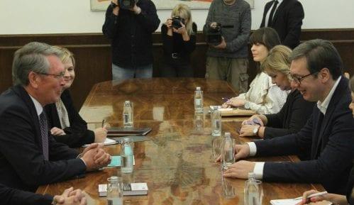 Vučić sa Čepurinom: Ogromna je čast ugostiti Putina 15
