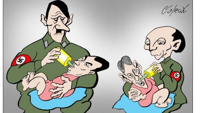 Vučić o Koraksovoj karikaturi: To je demokratija u Srbiji 1