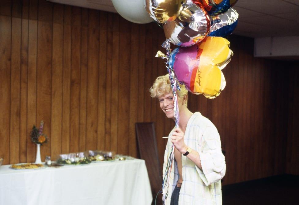 Dejvid Bouvi sa balonima
