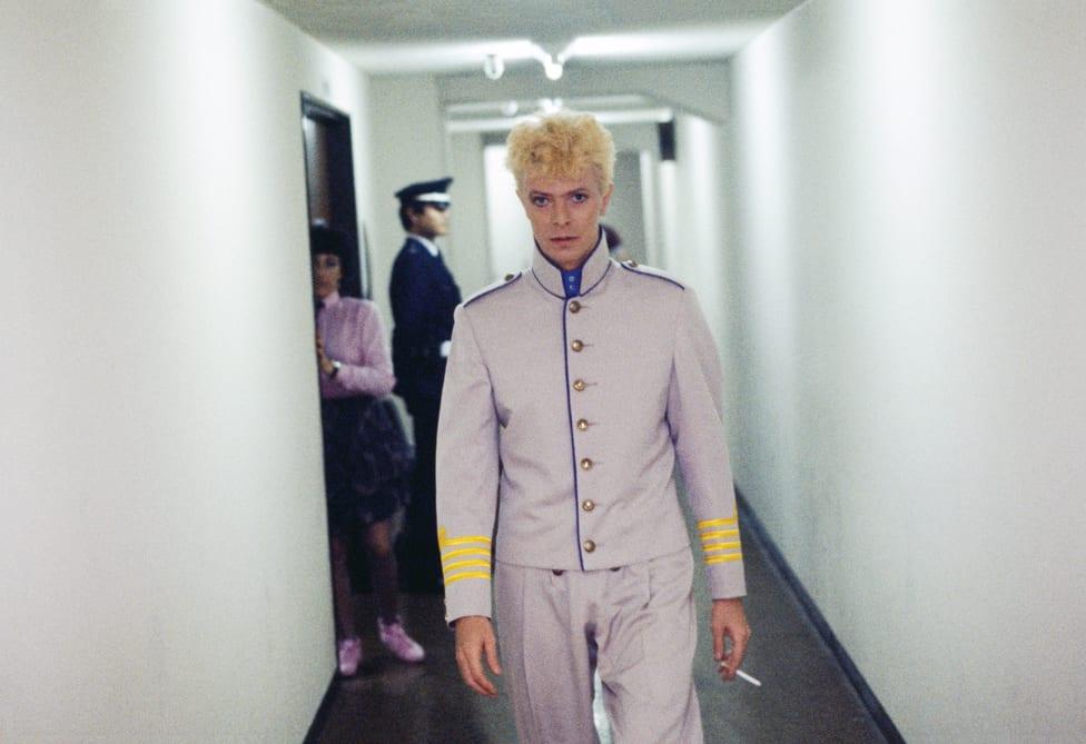 Dejvid Bouvi u bekstejdžu u Japanu