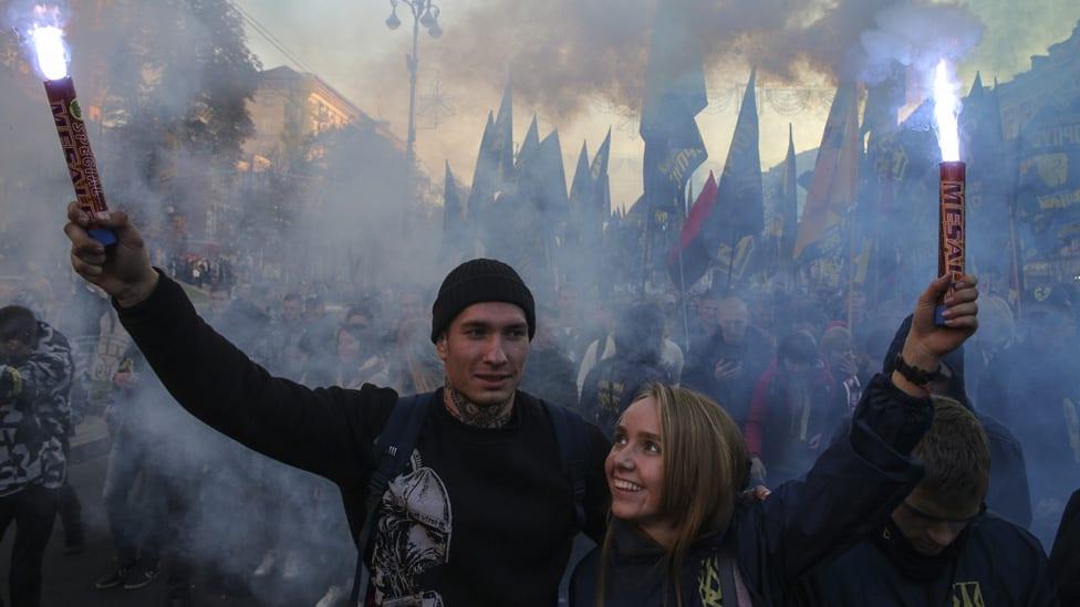 Miting nacionalista u Kijevu