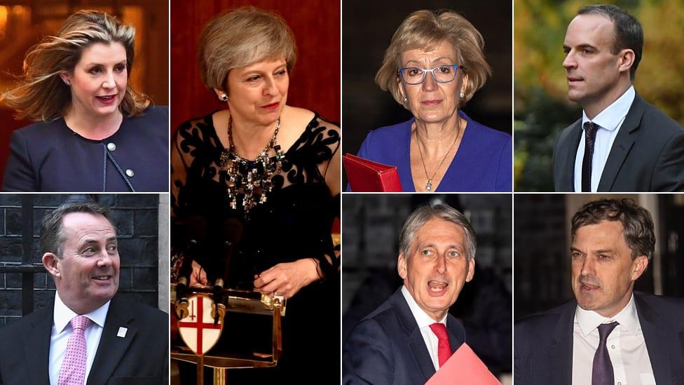 Kolaž ministara Velike Britanije