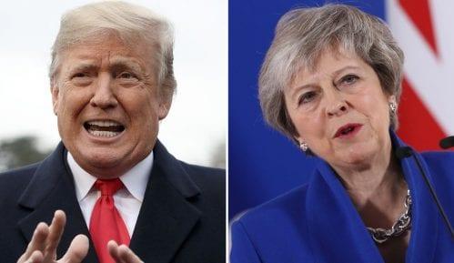 Bregzit: Plan Tereze Mej ugrožava trgovinu između Britanije i SAD, tvrdi Tramp 1