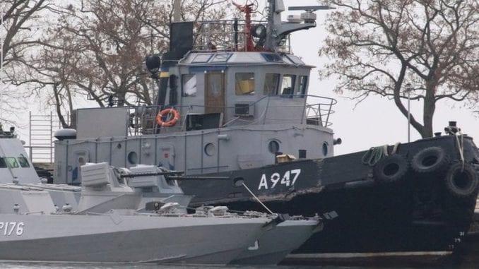 Sukob Ukrajine i Rusije na moru - proglašeno ratno stanje 2