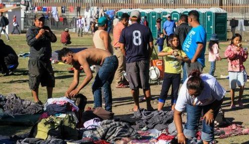 Protesti na granici između Meksika i SAD 5
