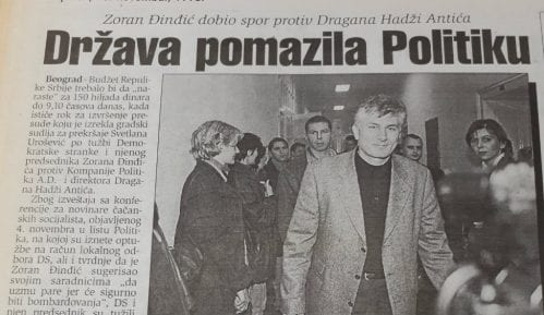 Danas (1998): Smena Vučele, Šešelj i bejzbolke... 8