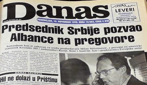 Danas (1998): Srbija ušla u ekonomski rat sa Republikom Srpskom 13