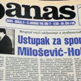 Danas (1998): Mitrović dobija frekvenciju, dok Ćuruviji plene novine 6