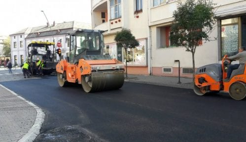 Šabac: Obnova Sremske ulice, završena Vuka Karadžića 14