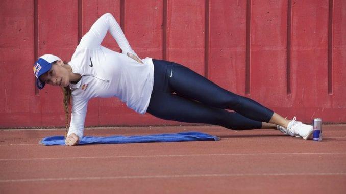 Ivana Španović oporavila se od povrede i počela sa treninzima 1