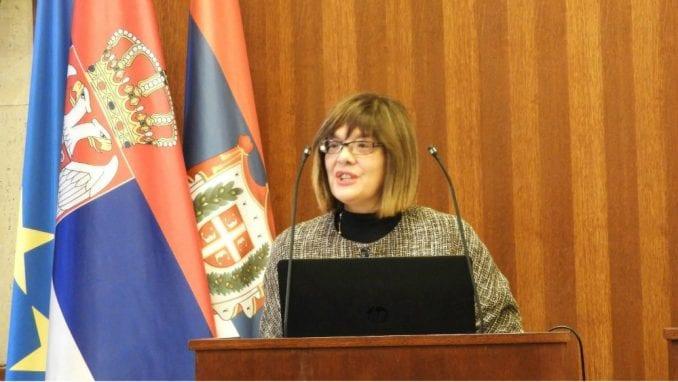 Maja Gojković osudila pokušaj ulaska demonstranata u parlament 1