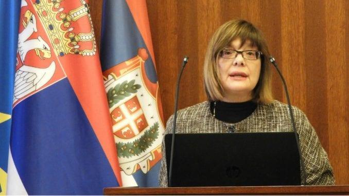 Maja Gojković zakazala posebnu sednicu Skupštine Srbije za 2. oktobar 1