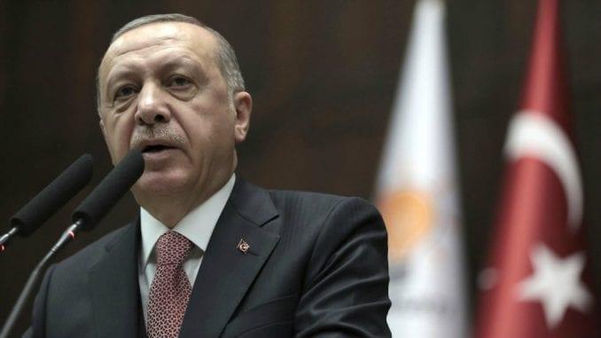 Erdogan u Srbiji 7. i 8. oktobra 1