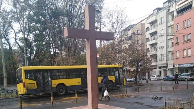 Crveni Vozarev krst - greška ili faza u radovima? 1