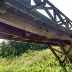 Nebezbedan most preko Topčiderske reke 2