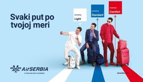 Miloš Biković zaštitno lice u kampanji Er Srbije 8