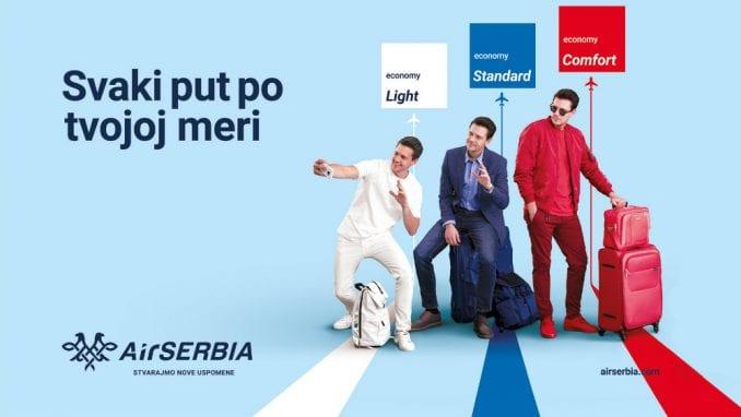 Miloš Biković zaštitno lice u kampanji Er Srbije 1