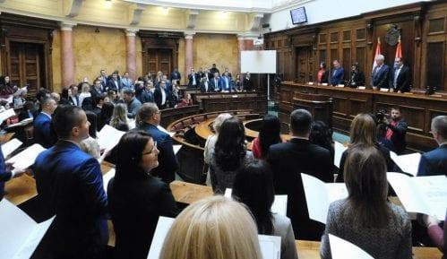 Sudije koje su prvi put izabrane na funkciju položile zakletvu u Skupštini 4