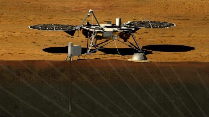 Letelica Insajt uspešno sletela na Mars 1