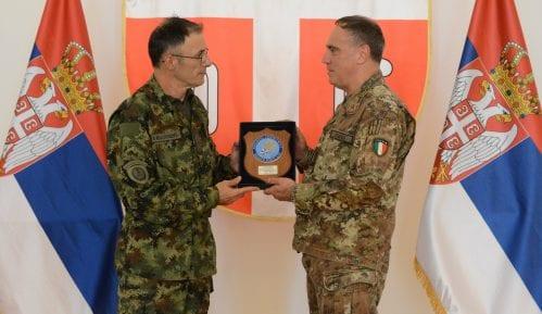 General Mojsilović sa komandantom KFOR-a o bezbednosti na KiM 13