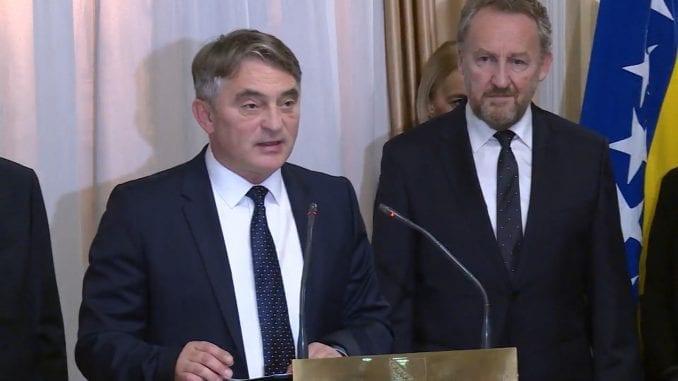 Komšić: Zvaničnici Srbije da prestanu da se poigravaju sa BiH 1